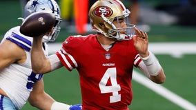 Mullens injury clears way for Beathard to start for 49ers