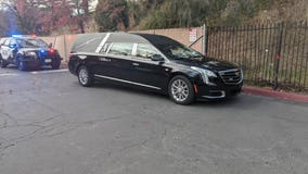 Man arrested for stealing hearse from outside Santa Rosa church