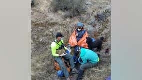 Hiker, dog found safe after spending the night in Fairfax creek drainage