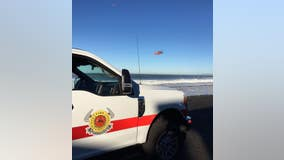 Pacifica firefighters rescue woman, dog from cliffside