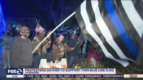 Community members, sheriff support thin blue line after Livermore committee finds it racist