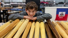 Iowa boy selling baseball bats from fallen trees to help storm victims