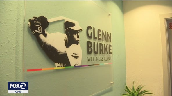 Oakland wellness clinic honors MLB's 1st openly gay player