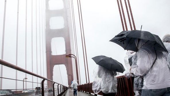 Weekend rain expected in Bay Area, central coast