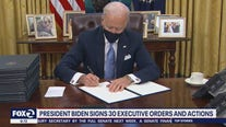 President Biden begins setting agenda through executive orders