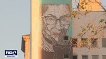 Larger than life artwork celebrates Ruth Bader Ginsburg in San Jose