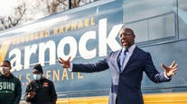 Democrat Raphael Warnock wins Senate race; 2nd too early to call