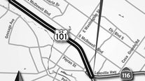 Petaluma Highway 101 widening project progressing with new stage next week