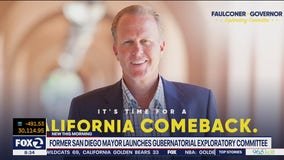Former San Diego mayor launches committee to run for governor