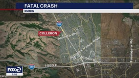 Crash kills two on I-680 in Dublin