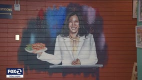 Bay Area businesses honor Oakland's Kamala Harris with ice cream, dishes