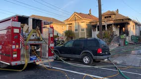 Three people displaced in Emeryville house fire