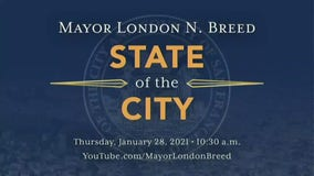 San Francisco Mayor London Breed delivers the State of the City address