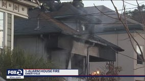 3 people without home after Emeryville house fire