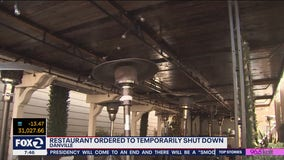 Danville restaurant temporarily told to shut down for virus violations