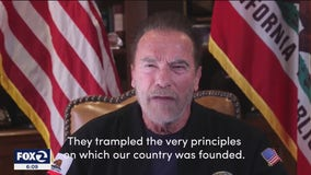 Schwarzenegger talks about his home country, Austria, in new video denouncing Trump