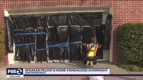 Speaker Nancy Pelosi's Pacific Heights house vandalized