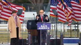 California professor who spoke alongside Giuliani at Trump rally retires