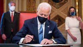 Biden sends 15 executive orders and 2 actions on Day One