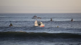 12 children rescued from Santa Cruz harbor after large waves capsize multiple sailboats