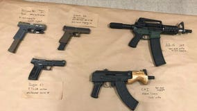 Richmond police discover multiple firearms after pursuit and crash, three arrested