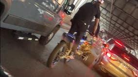 Felony homicide arrest made following chaotic Bay Bridge biker crash
