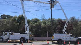 Pole fire leaves over 2,000 Santa Clara Power customers without electricity