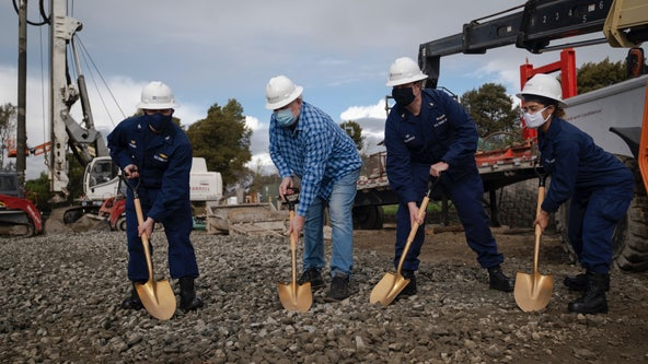 Coast Guard holds groundbreaking ceremony for new facility in Vallejo