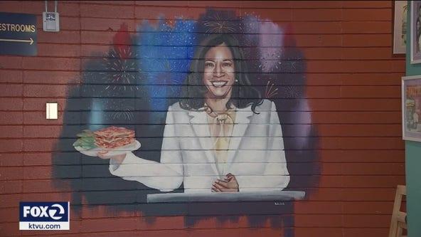 Bay Area businesses honor Oakland's Kamala Harris with ice cream, dishes