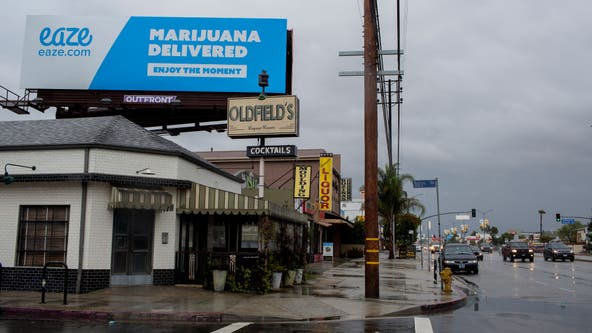 California regulators say highway marijuana billboards must go