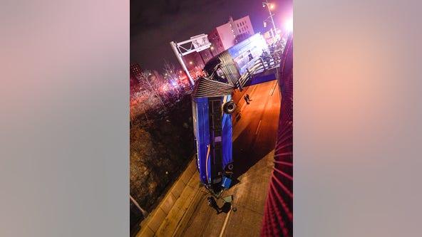 MTA bus driver in Bronx bridge plunge says it 'just took off'