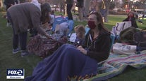 Friday outdoor movie night in Walnut Creek