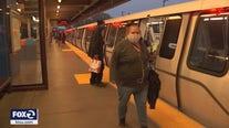 BART ridership remains down more than 80%