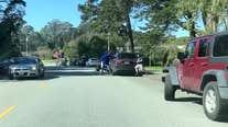 VIDEO: Victim wrestles belongings back from robber at Golden Gate Park
