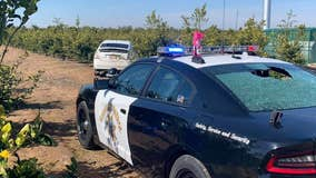 CHP officer, suspect struck during central California shootout