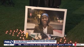 Vigil held for young father killed by driver near SF State