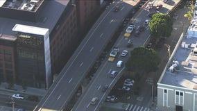 San Francisco sinkhole snarls traffic off I-280 exit