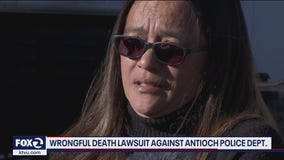Family files wrongful death claim alleging Antioch police killed son with knee to neck