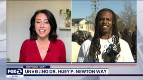 Unveiling Huey Newton Way