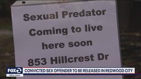 Sex offender set to move into Redwood City neighborhood
