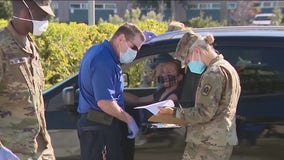 Active duty troops headed to California to help with vaccine distribution