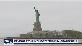 Democrats unveil sweeping immigration reform bill