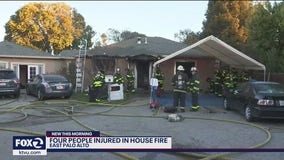 Mother, daughter hospitalized with burns after East Palo Alto house fire