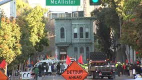 139-year-old San Francisco home rolls to new address