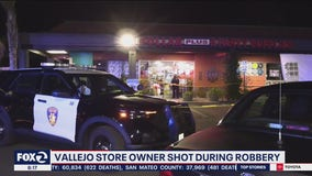 Vallejo store owner in critical condition after being shot in robbery