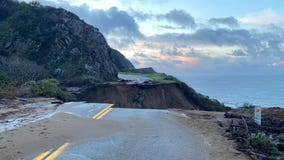 Work to replace collapsed section of Highway 1 by Big Sur starts Monday