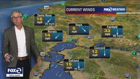 Winds in higher elevations to peak