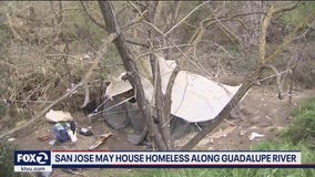 San Jose looks to house homeless along Guadalupe River