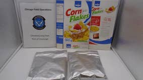Customs inspectors intercept more than 40 pounds of 'cocaine-soaked' corn flakes