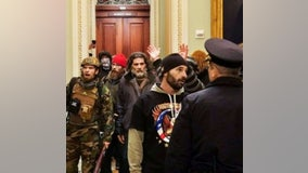 Filing: Proud Boys member seen smashing windows during Capitol Riot considering guilty plea